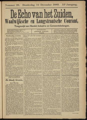 Echo van het Zuiden 1889-12-12