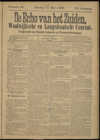 Echo van het Zuiden 1896-05-17