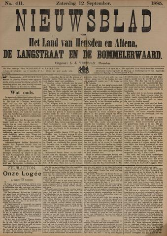Nieuwsblad het land van Heusden en Altena de Langstraat en de Bommelerwaard 1885-09-12