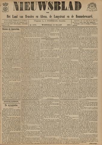 Nieuwsblad het land van Heusden en Altena de Langstraat en de Bommelerwaard 1901-03-13