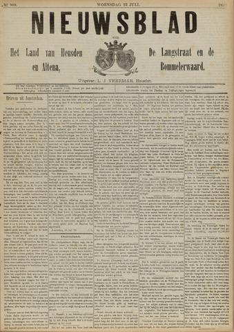 Nieuwsblad het land van Heusden en Altena de Langstraat en de Bommelerwaard 1890-07-23
