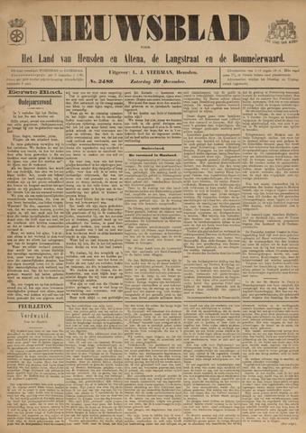 Nieuwsblad het land van Heusden en Altena de Langstraat en de Bommelerwaard 1905-12-30