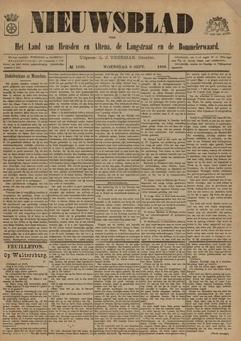 Nieuwsblad het land van Heusden en Altena de Langstraat en de Bommelerwaard 1896-09-09