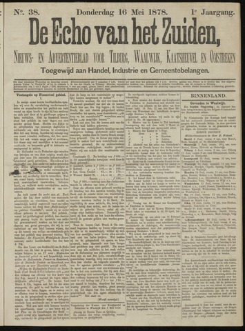Echo van het Zuiden 1878-05-16