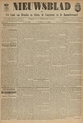 Nieuwsblad het land van Heusden en Altena de Langstraat en de Bommelerwaard 1895-04-15