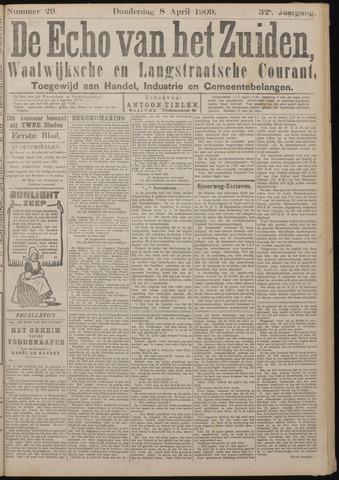 Echo van het Zuiden 1909-04-08