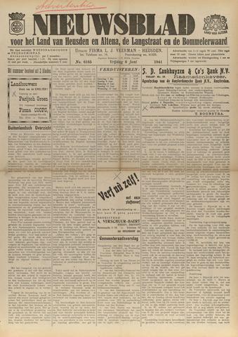 Nieuwsblad het land van Heusden en Altena de Langstraat en de Bommelerwaard 1941-06-06