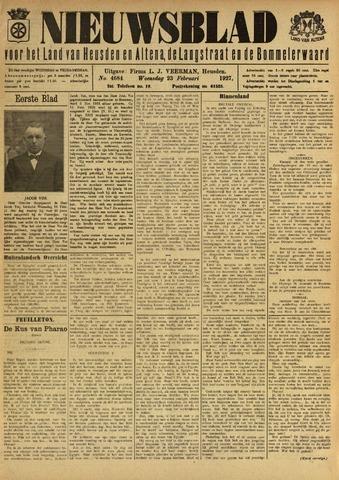 Nieuwsblad het land van Heusden en Altena de Langstraat en de Bommelerwaard 1927-02-23