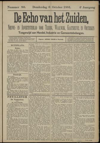 Echo van het Zuiden 1881-10-06