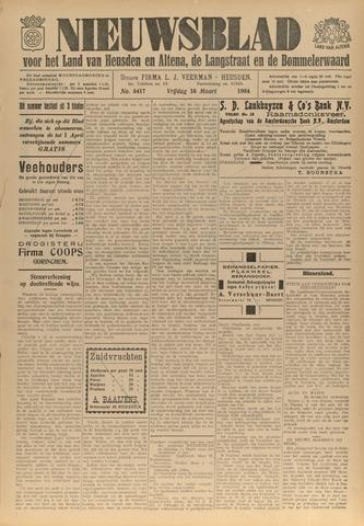 Nieuwsblad het land van Heusden en Altena de Langstraat en de Bommelerwaard 1934-03-16