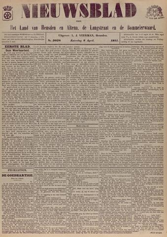 Nieuwsblad het land van Heusden en Altena de Langstraat en de Bommelerwaard 1911-04-08