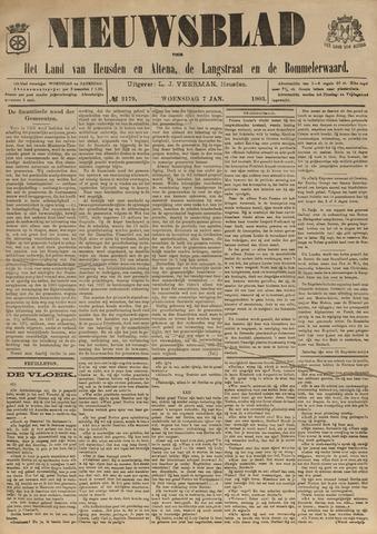 Nieuwsblad het land van Heusden en Altena de Langstraat en de Bommelerwaard 1903-01-07