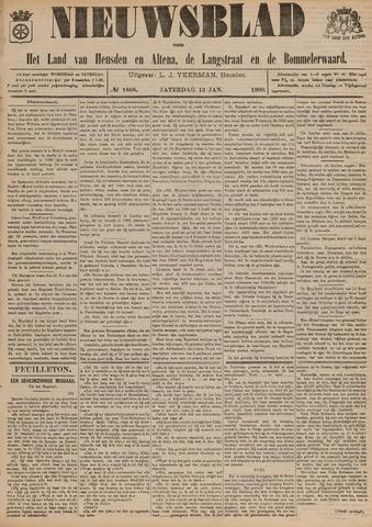 Nieuwsblad het land van Heusden en Altena de Langstraat en de Bommelerwaard 1900-01-13
