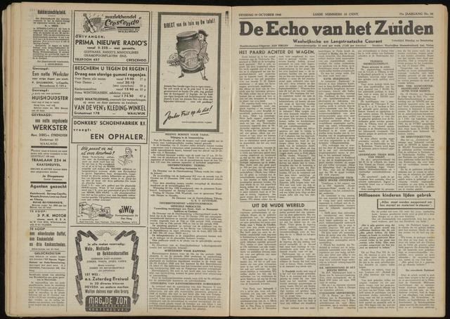 Echo van het Zuiden 1948-10-19