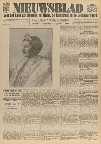 Nieuwsblad het land van Heusden en Altena de Langstraat en de Bommelerwaard 1932-08-31