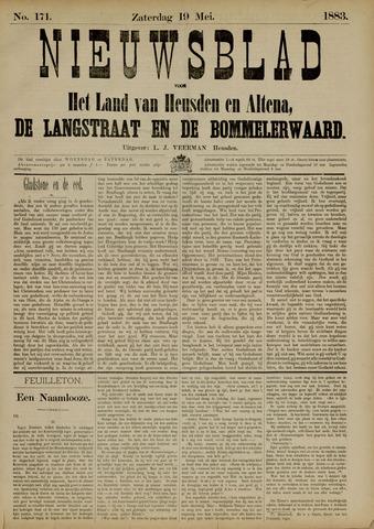 Nieuwsblad het land van Heusden en Altena de Langstraat en de Bommelerwaard 1883-05-19