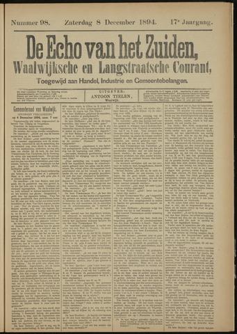 Echo van het Zuiden 1894-12-08