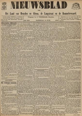 Nieuwsblad het land van Heusden en Altena de Langstraat en de Bommelerwaard 1902-06-14