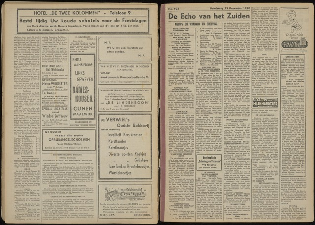 Echo van het Zuiden 1948-12-23