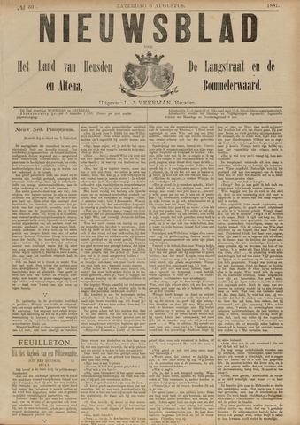 Nieuwsblad het land van Heusden en Altena de Langstraat en de Bommelerwaard 1887-08-06