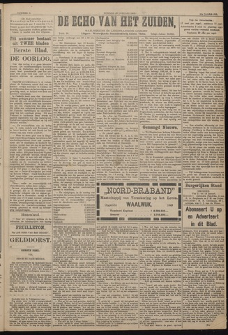 Echo van het Zuiden 1918-01-20