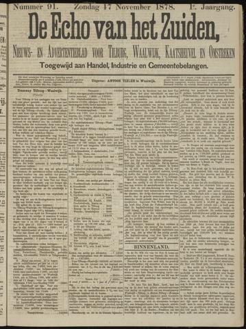 Echo van het Zuiden 1878-11-17