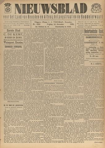 Nieuwsblad het land van Heusden en Altena de Langstraat en de Bommelerwaard 1923-12-14