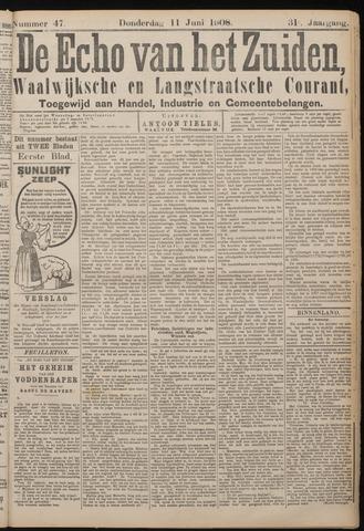 Echo van het Zuiden 1908-06-11