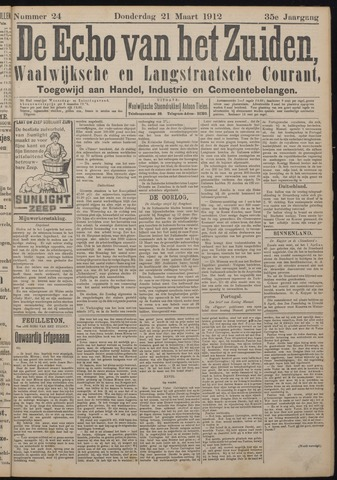 Echo van het Zuiden 1912-03-21