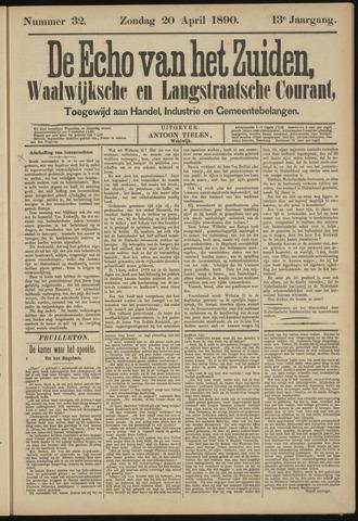 Echo van het Zuiden 1890-04-20