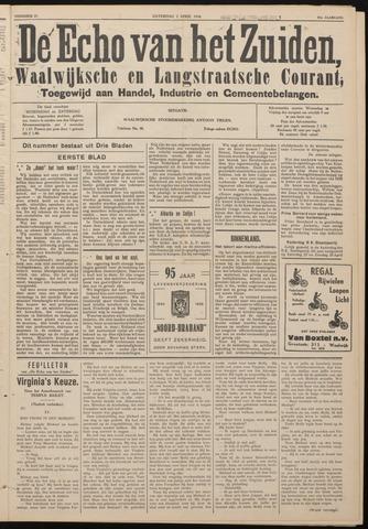 Echo van het Zuiden 1938-04-02