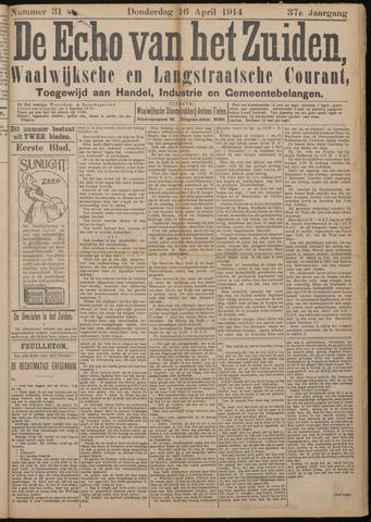 Echo van het Zuiden 1914-04-16