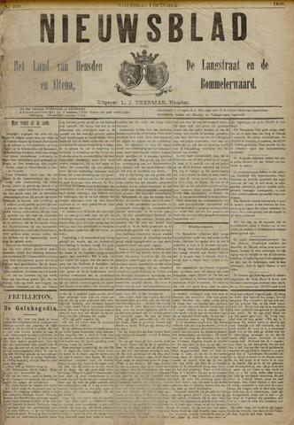 Nieuwsblad het land van Heusden en Altena de Langstraat en de Bommelerwaard 1890-10-01