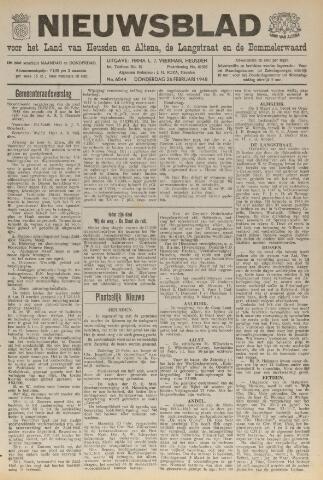 Nieuwsblad het land van Heusden en Altena de Langstraat en de Bommelerwaard 1948-02-26