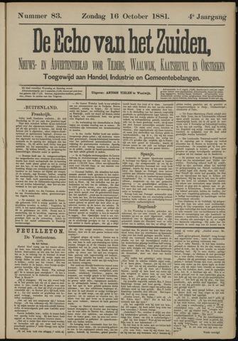 Echo van het Zuiden 1881-10-16