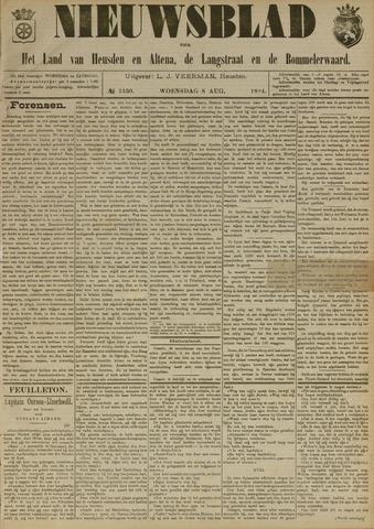 Nieuwsblad het land van Heusden en Altena de Langstraat en de Bommelerwaard 1894-08-08
