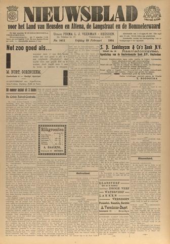 Nieuwsblad het land van Heusden en Altena de Langstraat en de Bommelerwaard 1934-02-23