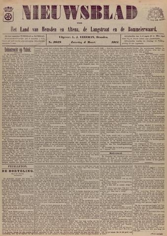 Nieuwsblad het land van Heusden en Altena de Langstraat en de Bommelerwaard 1911-03-04