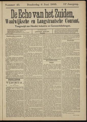 Echo van het Zuiden 1889-06-06
