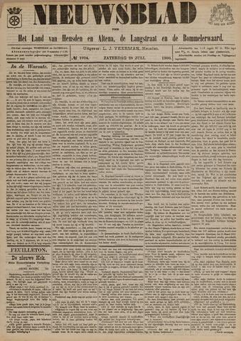 Nieuwsblad het land van Heusden en Altena de Langstraat en de Bommelerwaard 1900-07-28