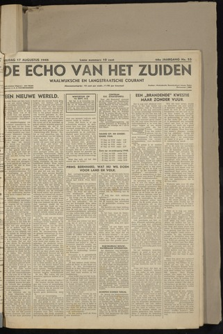 Echo van het Zuiden 1945-08-17
