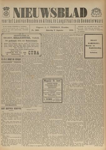 Nieuwsblad het land van Heusden en Altena de Langstraat en de Bommelerwaard 1919-08-02