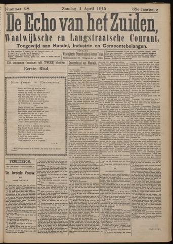 Echo van het Zuiden 1915-04-04