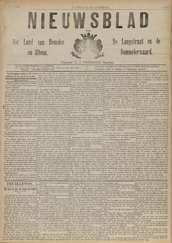 Nieuwsblad het land van Heusden en Altena de Langstraat en de Bommelerwaard 1891-10-31