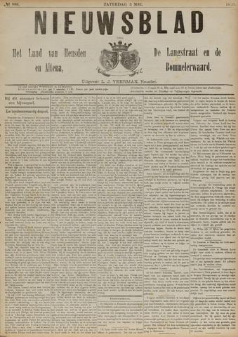 Nieuwsblad het land van Heusden en Altena de Langstraat en de Bommelerwaard 1890-05-03