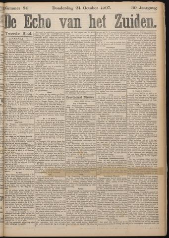 Echo van het Zuiden 1907-10-24