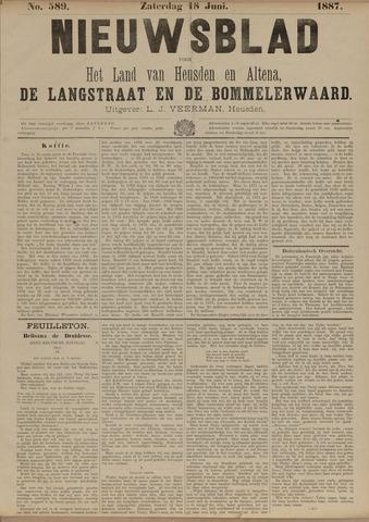 Nieuwsblad het land van Heusden en Altena de Langstraat en de Bommelerwaard 1887-06-18