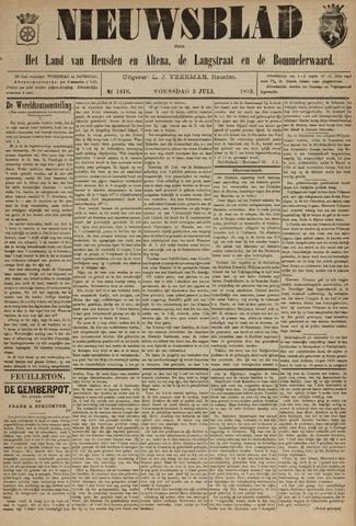 Nieuwsblad het land van Heusden en Altena de Langstraat en de Bommelerwaard 1895-07-03