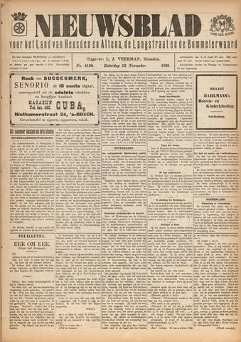 Nieuwsblad het land van Heusden en Altena de Langstraat en de Bommelerwaard 1921-11-12