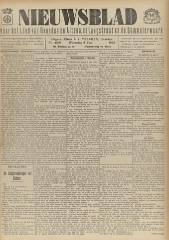Nieuwsblad het land van Heusden en Altena de Langstraat en de Bommelerwaard 1923-06-06